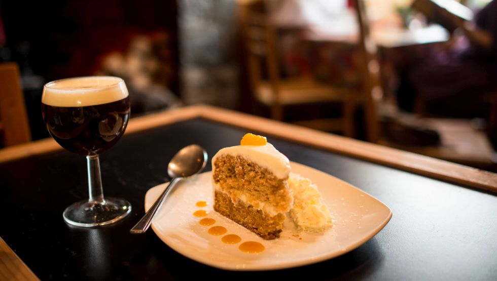 Stonecutters -Irish Coffee and carrot cake
