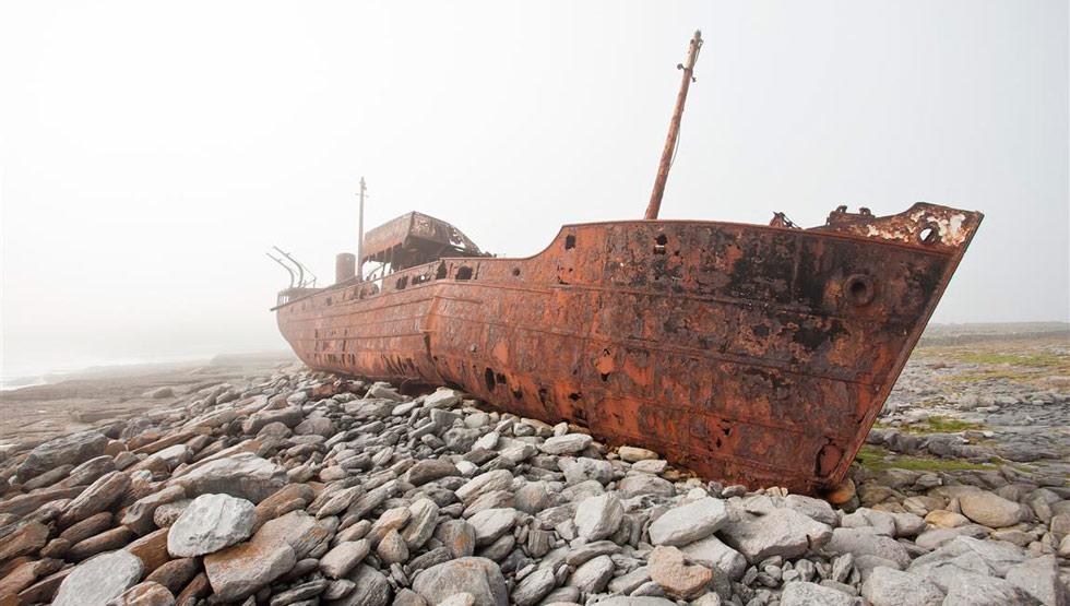 Island ship wrek