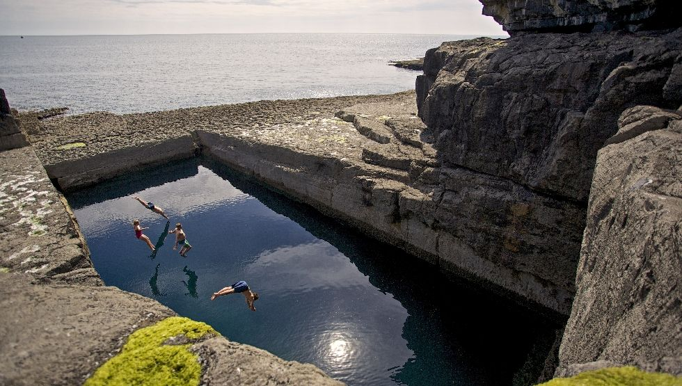 Doolin - Do - Aran - Cliff Dive