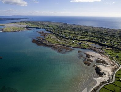 Aerial Inishmore, Aran Islands