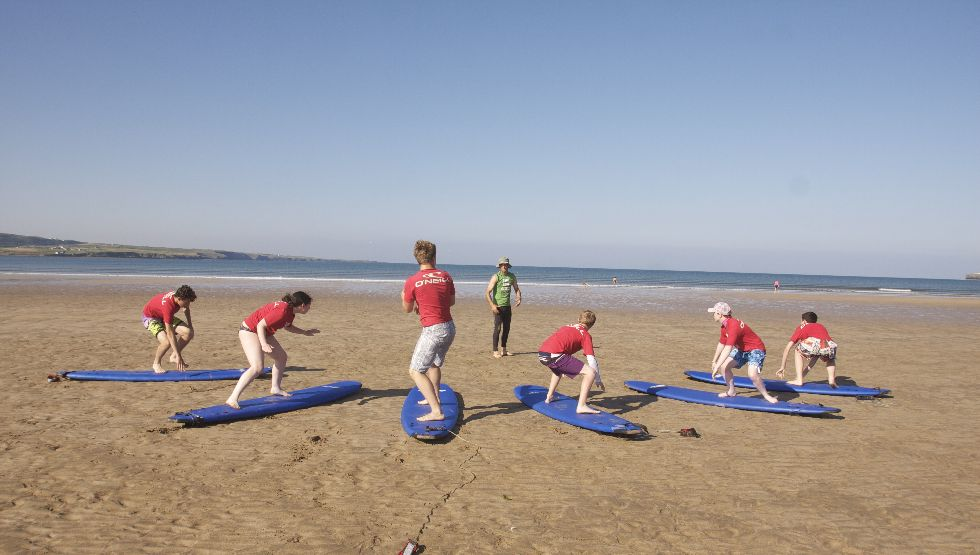 Ben's Surf Clinic, Lahinch, Doolin, Clare, Wild Atlantic Way