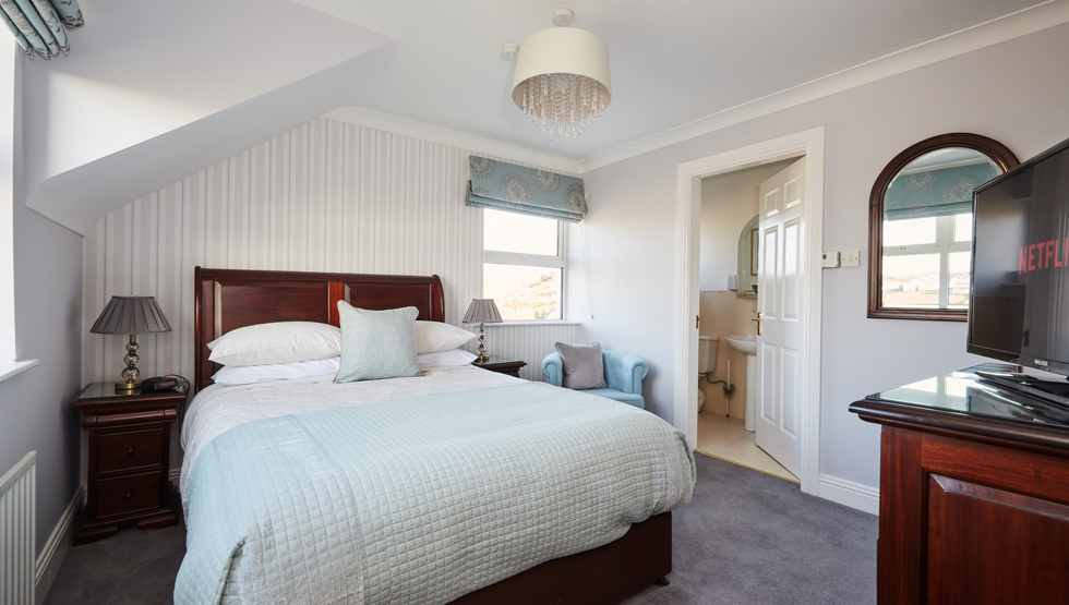 Luxury guest room at Sea View House in Doolin