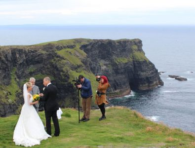 Cliffs of Moher Wedding